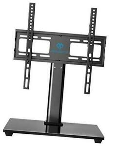 Perlesmith Swivel Universal Tv Stand / Base - Table Top Tv Stand For 32-55 Inch