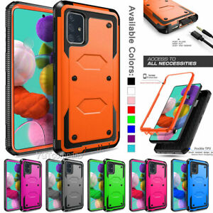 For Samsung Galaxy A50 / A51 Shockproof Phone Case Hybrid Rugged Armor Cover
