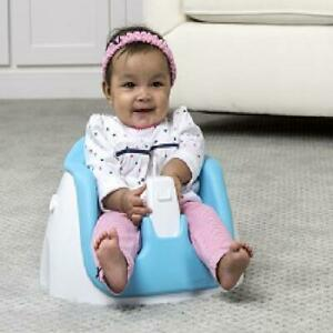 Baby Floor Seat + Tray Activity Chair W/removable Feeding Tray Regalo Bumbo Blue