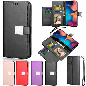 For Samsung Galaxy A10e/ A20/a50 Leather Case Flip Card Slot Stand Wallet Cover
