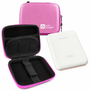Duragadget | Pink Hard Shell Case For The Canon Ivy Mini Photo Printer