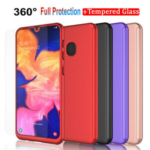 For Samsung Galaxy A10e A20 A20s A30 A50 Case With Screen Protector Full Cover
