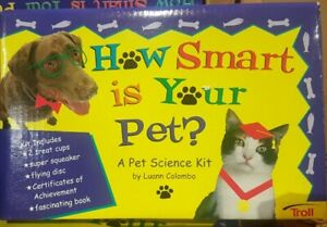 Dog Cat  Pet  Accessories /supplies     How  Smart  Is  Your  Pet   * Test Kit *