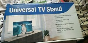 Rfiver Universal Table Top Tv Stand Base With Height Adjustment Fits Most 32
