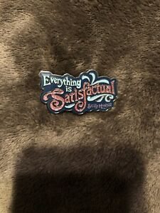 Disney Parks Everything Is Satisfactual Splash Mountain Glitter Pin
