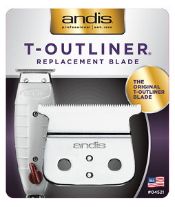 Andis T-outliner Trimmer Replacemnt Blade Set 04521 New! Authorized Distrib 4710