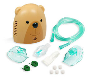 Pediatric Compressor Machine System With Adult And Child Mask Kits, 5 Filters