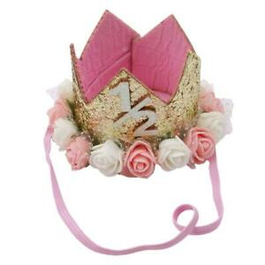 Lovely Headband Baby Accessories Headwear Crown Birthday Supplies Fake Hat Sl