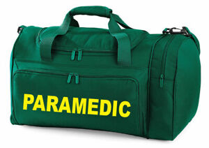 Paramedic Carry Kit Bag Printed Medic First Aid Doctor Holdall