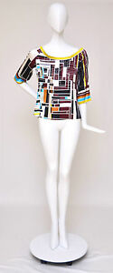 Emilio Pucci Top And Sweater Set Sz 10