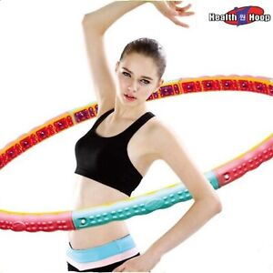 Health Hoop®- 4.6lb Dynamic Weighted Health Magnetic Hula  Hoop For Workout