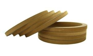 4 Pair Wood Mdf Speaker Spacer Rings 10