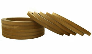 5 Pair Wood Mdf Speaker Spacer Rings 10