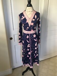 Spectacular Vintage Emilio Pucci For Saks Fifth Avenue 2 Piece Outfit