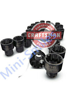 Craftsman  Universal Max Axess Socket, 3/8-inch Drive,any Size