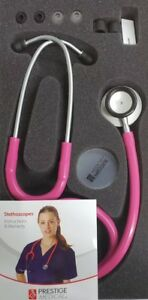 Clinical Lite Stethoscope  Raspberry Model 121 Free Shipping