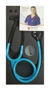 Clinical Lite Stethoscope Stealth Neon Blue Model 121 Free Shipping