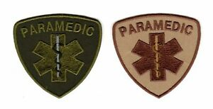 Tactical Military Army Badge Morale Patch Medic Paramedic Emt Ems