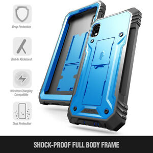 Samsung Galaxy A10e Case Poetic Shockproof Cover With Screen Protector Blue