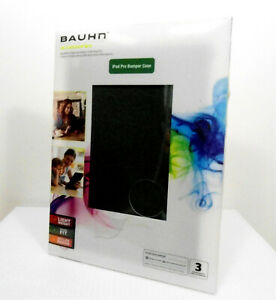 Bauhn Bumper Case Suitable For Ipad Pro Black New Sealed Package