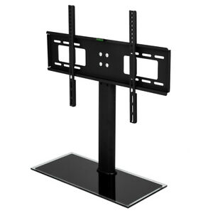 Universal Tabletop Tv Stand Pedestal Base Adjustable For 32 To 65 Inch Led Lcd