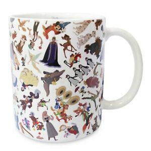 Disney Parks Ink And Paint Color Changing Ceramic Coffee Mug - Splash Mountain!
