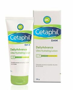 Cetaphil Dam Daily Advance Ultra Hydrating Lotion, 100g