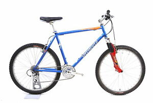 Specialized Hardrock Comp Fs Mountain Bike 3 X 8 Speed Manitou Xvert Xl / 21