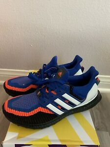 Adidas Ultra Boost 2.0 Asterisk Royal Blue/white/red Ef2901 Men's Size 10