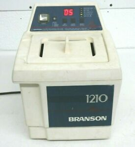 Branson 1210r-dth Ultrasonic Cleaner, Digital, Timer, Heated