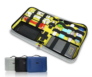 Bubm Universal Travel Case For Electronics And Accessories Hard Drive Cable Usb