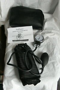 Lotfancy Aneroid Sphygmomanometer Blood Pressure Monitor Arm Cuff New With Instr