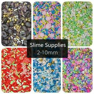 200pcs Mixing Slices Slime Charms Filler Supplies Accessories For Slime Fluffy