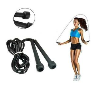Fitness Skipping Rope Adjustable Boxing Exercise Speed Rope Weight Lose Y7o9