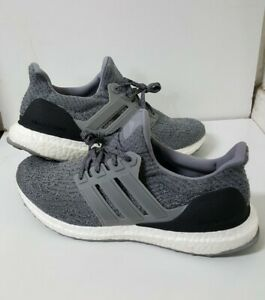 Adidas Ultra Boost 3.0 Grey Three Running Shoes Sneakers Mens Size 10 Us