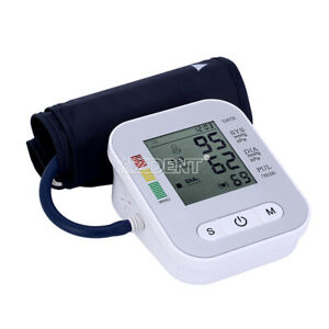 Portable Arm-cuff Voice Electronic Blood Pressure Meter Sphygmomanometer