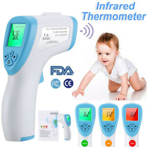 Non-contact Infrared Digital Forehead Thermometer Baby/adult Temperature Gun Fda