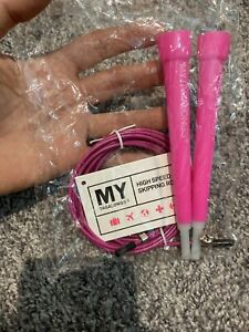 My Tagalongs High Speed Skipping Rope New Pink Jump Rope