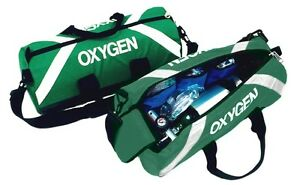 Oxygen Roll Bag Used By Emt And Paramedic - Green