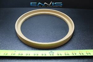 1 Mdf Speaker Ring Spacer 10 In Bezel Wood 1 In Fiberglass Enclosure Ring-10bz