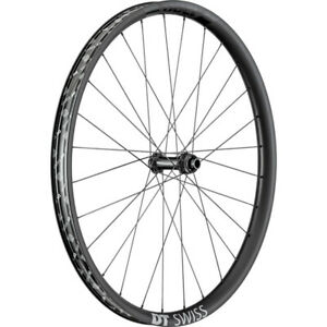 Dt Swiss Exc 1200 Exp Carbon Rim Boost Axle Bicycle Cycle Bike Front Wheel Black