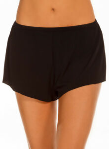 Magicsuit By Miraclesuit Jersey Shorts Tap Pant Black Swim Cover Up New