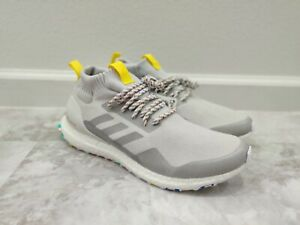 Adidas Ultra Boost Mid Running Shoes Grey White G26842 Men's Size 10