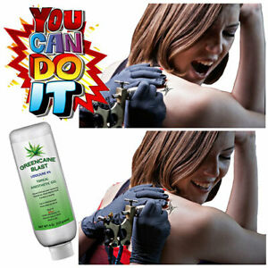 Greencaine Blast Numbing Cream 4 Painless Tattooing, Laser Hair Removal & Waxing