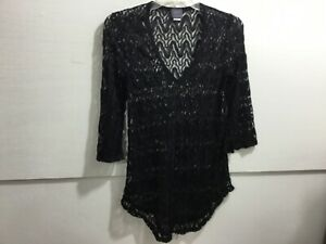 Ladies Size Small Adorable Lace Like Swimsuit Cover Up