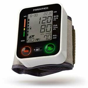 Automatic Wrist Blood Pressure Monitor By Paramed:blood-pressure Kit Of Bp Cuff