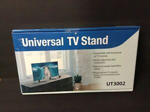 Rfiver Universal Table Top Tv Stand Base W. Height Adjustment Fits Most 22