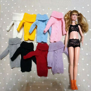 1:6 Soldier Doll Sweater Womens Supplies For 11.5'' Toy Clothing Accessories