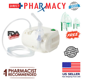 Compact Portable Compressor Nebulizing Machine Fda Ce Approve Free Masks