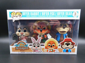 Funko Pop! Disney Parks Exclusive Splash Mountain 3 Pack Sold Out - In Hand